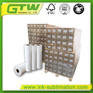 New Generation 100 GSM Fast Dry Sublimation Paper for Wide-Format Inkjet Printer pictures & photos
