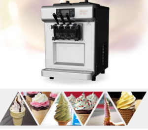 Top Table Soft Ice Cream Machine pictures & photos