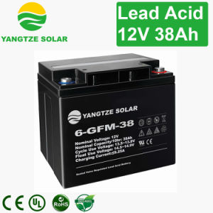 Lead Acid AGM 38ah 12V Rechargeable Battery pictures & photos