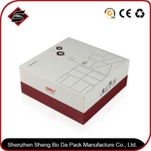 Customized Logo Square Paper Gift Storage Printing Box pictures & photos