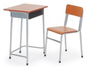 School Single Desk Set for Student Sf-104 pictures & photos