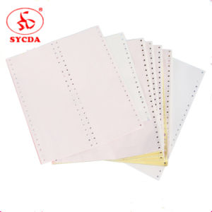 Good Price 241mmx279mm Carbonless Continuous Computer Paper pictures & photos