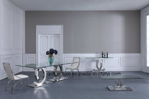Glass Dining Table for Dining Room Furniture pictures & photos