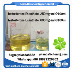 Steroid Semi-Finished Oil Testosterone Enanthate 600mg/Ml pictures & photos