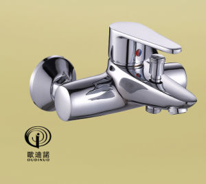 Brass Material Single Lever Wall-Mounted Kitchen Faucet 67418 pictures & photos
