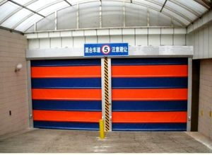 High Speed Belt Soft Fast Stacking PVC Rapid Stacking Door (Hz-FC0560) pictures & photos