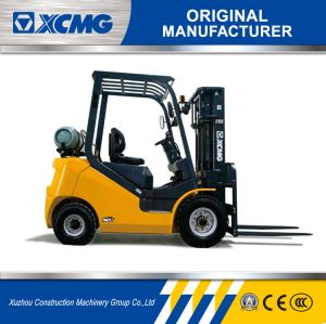XCMG Fgl18t 1.8 Ton Small Forklift Gasoline & LPG Gas Forklift pictures & photos