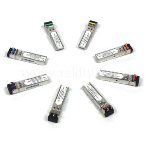 RoHS Compliant LC 80km 1.25g SFP Optical Transceiver for CWDM pictures & photos