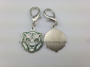 Blue and White Porcelain Pattern Key Ring (GZHY-KA-021) pictures & photos