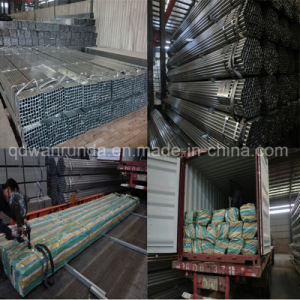 Ornament/Fence/Furniture/Advertisement Use Galvanized Steel Pipe pictures & photos
