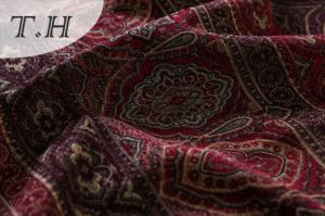 Upholstery Materials 100% Polyester Viscose Fabric in Chenille pictures & photos