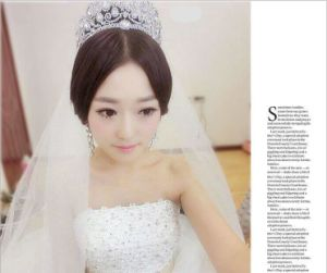 2018 Customized Crystal Crown Wedding Rhinestone Tiaras Bridal Crown (TA-001) pictures & photos