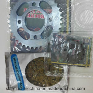 Motorcycle Chain and Sprocket Kit for Cg125 pictures & photos