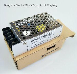 HSC-25 Single Output Power Supply 25W Input AC 88 to 264VAC Output 5V, 12V, 15V, 24V, 48V pictures & photos