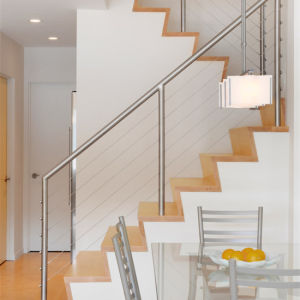 DIY Cable Railing Wire Rope Fixing Balustrade with Stainless Steel Cable pictures & photos