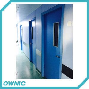 Gspm-1 Steel Swing Door for Ward Sliding Open pictures & photos