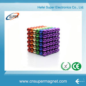 216PCS 5mm Intelligent Magnetic Toy Neocube Permanent Neodymium Magnet Ball pictures & photos