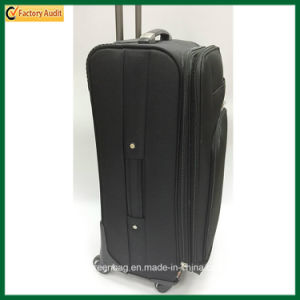 Customized Black Luggage Upright Trolley Bags pictures & photos