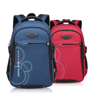 Unisex Nylon Shoulder School Children Teenagers Kids Backpack pictures & photos