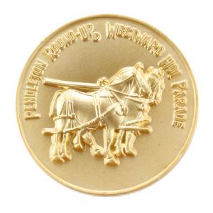 Manufactory Production Gold Metal Souvenir Coin pictures & photos