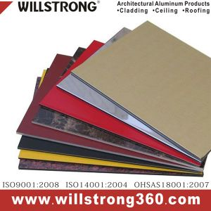 Willstrong Anti-Bacterial Aluminum Composite Wall Panels pictures & photos