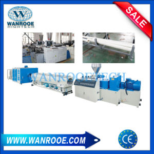 Sjsz China Supplier Conical Twin Screw Extruders PVC Pipe Production Line pictures & photos