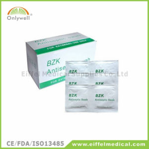 Antiseptic Medical Povidone-Lodine Prep Swab with Ce&ISO Certificate pictures & photos