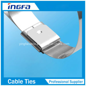 304 316 Grade Heat Resistant Stainless Steel Cable Tie with Ce ISO UL pictures & photos