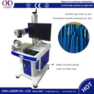 Smaller Desk Fiber Laser Marking Machine for Metal Non Metal pictures & photos