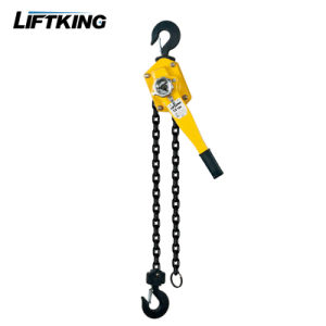 0.75 Ton Yale Type Handle Lever Chain Block with Overload Protection Device pictures & photos