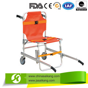 Portable Emergency Aluminum Alloy Stair Folding Stretcher pictures & photos