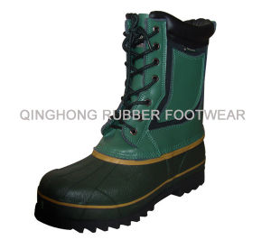 Leather Snow Boots (XD-106)