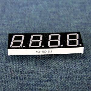 "0.80"" 4 Digit 7 Segment LED Display (XSM-S8042AR)"