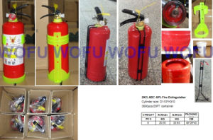 2kg Portable ABC Dry Powder Fire Extinguisher pictures & photos