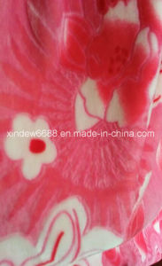 100% Polyester Coral Fleece Blanket pictures & photos