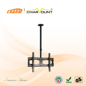 High Steel Quality Meeting Room LCD TV Ceiling Mount Bracket (CT-CPLB-101) pictures & photos