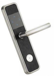 Chrome Zinc Alloy Fingerprint Electronic Door Lock Hotel Smart Door Lock pictures & photos