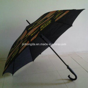 Auto Open Straight Umbrella with Colorful Printing (YS-1040A) pictures & photos