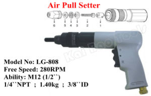 Air Pull Setter M12 Nut Pneumatic Pulling Riveter Gun pictures & photos