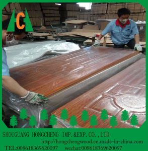 4.2mm Top Quanlity Hight Glossy Melamine Door Skin pictures & photos