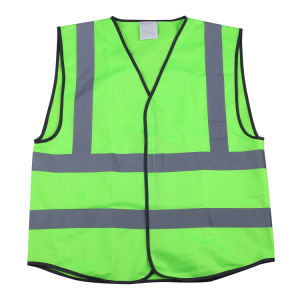 Lime Green High Reflective Traffic Safety Vest (MW19018) pictures & photos