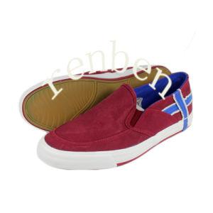 New Design Men′s Canvas Shoes pictures & photos
