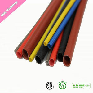 Flame Retardant Heat Resistant Silicone Fiberglass Sleeving for Electrical Appliances pictures & photos