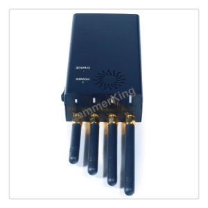 Wireless signal jammer - Adjustable 3G/4G All Cell phone Signal Jammer & GPS Jammer