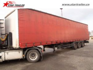 3axles Curtainside Semi Trailer Tautliner Trailers for Sale pictures & photos
