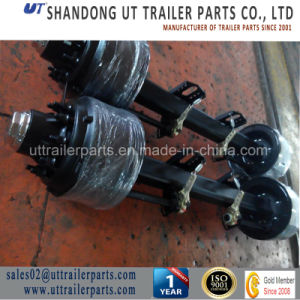 "American Style Axle/127mm Square/8""Brake Size/13 Tons/Semi Trailer Axle pictures & photos"