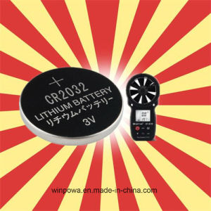 Cr2032 Lithium Battery for Wind Speed Measure