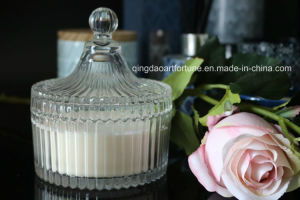 Hot Sale Luxury Glass Scented Jar Candle with Gift Box Packing for Wedding and Home Decor pictures & photos