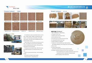 Hardboard Wall Panel for Commercial Building Partition Fireproof Grade a Easy and Fast Installation pictures & photos