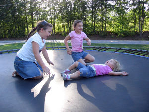 The High Quality Trampoline From Little Flying Man pictures & photos